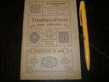 1913 CATALOGO R.MEZZADRI ROMA VIA CONDOTTI FRANCOBOLLI
