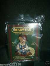 one Boyds Bear and Friends Bearwear Pin Bears  Hares NEW old stock