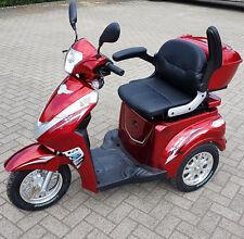 Seniorenmobil Dreiradscooter  Eco Engel 501 1000 Watt Elektro Mobil rot