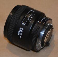 Nikon AF NIKKOR 85mm f/1.8 fast professional lens - portraits etc.