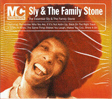 SLY & The FAMILY STONE CD The Essential HITS Mastercuts Slip-in Outer SEALED New