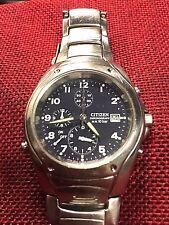 Citizen Cronograph W.R. 10 bar  0580 WR10 bar  vintage Watch