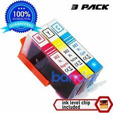 3PK 902XL Color Ink Cartridges for HP 902 Officejet Pro 6960 6968 6970 6975 6978