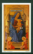 BARBADOS 1983, Christmas & Museum Anniversary , M/Sheet MNH