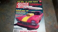 SUPER STOCK & DRAG ILLUSTRATED NHRA IHRA RACING MAGAZINE DECEMBER 1987