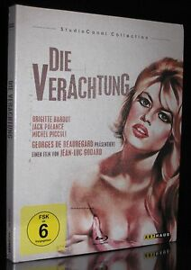 BLU-RAY DIE VERACHTUNG - LE MEPRIS - STUDIOCANAL COLLECTION - BRIGITTE BARDOT *