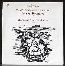 Moses Sequerra Madeleine Virlogeux-Henriet 78 : Franck, Ravel, Calmel, Bourrel