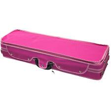 Sky Violin Oblong Case VNCQF06 Lightweight with Hygrometer Pink/Pink