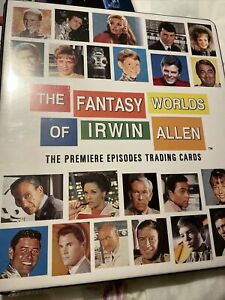 THE FANTASY WORLDS OF IRWIN ALLEN - Binder, Basic Set, Chase & Promo,Rittenhouse