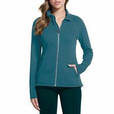 Skechers Performance Ladies Go Walk Full Zip Fleece Pullover Jacket Blue M