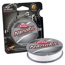 Berkley Nf15014Cm NanoFil Clear Mist 14lb. Fishing Line 150yd #9546880