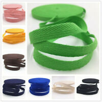 50/100Yards Webbing Natural Cotton Herringbone Webbing straps tapes 10mm wide