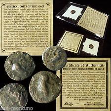 (1) Ancient  BIBLICAL COIN OF THE MAGI  Persian Roman Bible Greek Jesus 35BC-5AD