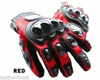 Pro-Biker Motorcycle Carbon Fiber Dirt Bike Racing Protective Full Gloves Black