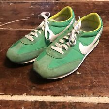 Nike Oceania Waffle Sole Shoes Womens 11 Green Retro Running Sneakers