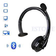 Noise-Canceling BH-M10B Bluetooth Over Head Boom Mic Headset For Trucker Drivers