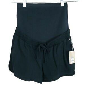 A Glow Maternity Shorts Medium Casual Black