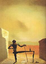 Incorniciato stampa-Salvador Dali il fantasma di Vermeer (Pittura foto poster arte)