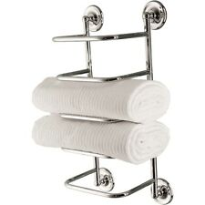 Bristan Solo 4x Towel Stacker Chrome Plated Wall Mount Comp Tstack1 C