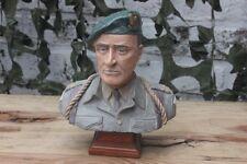 Buste Artisanal  d'un soldat Français WW2 du Commando KIEFFER