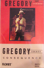 Gregory Isaacs ‎- Consequence Cassette Tape - SEALED Reggae