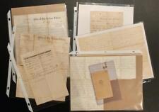 2033----1867 William Kerr death - Jackson MI - letters + CDV -- born in Ottawa