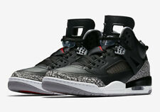 Air Jordan Spizike Black/Varsity Red/Cement Grey 315371-034 - US 8 - EU 41