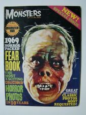 1969 Famous Monsters of Filmland Annual Magazine Lon Cheney Painted Cover