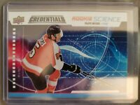 19-20 2019-20 UD Credentials Philippe Myers ROOKIE Science #RS-23 Flyers