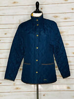 Joules Quilted Jacket - Navy - Size 8