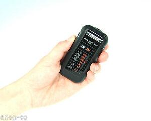 DEGEN DE337 AM/FM Analog Tuning Pocket Radio