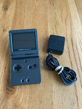 Nintendo Game Boy Advance SP AGS-101 Graphite Handheld System GBA WORKS GREAT!