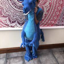 Dragon costume, Age 4-8 yrs, Ride on Dragon, Blue