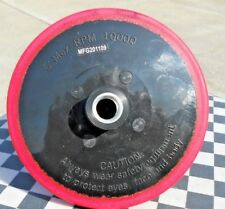 "BUFFING BACKING PAD J HOCK STYLE  7"" THRU 9"" PROFESSIONAL GRADE RUBBER.10.000RPM"