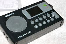 Sangean WFR-27C tragbares Internetradio (DAB+/ UKW-Tuner, WLAN, UPnP/ DMR Music)