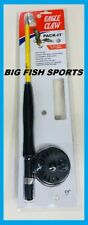 "EAGLE CLAW Pack-It Telescopic Fly Rod/ Reel Combo 6'6"" #PK66TF NEW FREE SHIPPING"