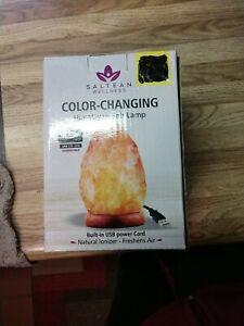 Himalayan Secrets Mini USB Himalayan Salt Lamp - Color Changing LED 2-3 LBs