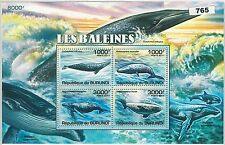 Burundian Fish & Marine Animal Postal Stamps