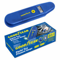Goodyear Digital LCD Tyre Pressure Gauge Tester Measurement Car Motorcycle Bike