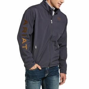 Ariat Mens New Team SoftShell jacket - Periscope  - Sizes S to 2XL