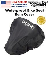 Bike Seat Cover, Waterproof Rain Bicycle Saddle Cover - Domain Cycling