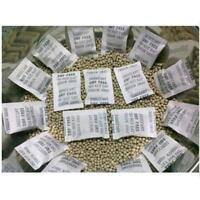 100Packs 1g Non-Toxic Silica Gel Desiccant Moisture Absorber Dehumidifier G A9M7