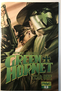 Green Hornet Year One 1 Dynamite Comics Alex Ross Variant Cover VF!!