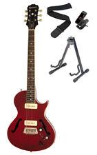 Epiphone Blueshawk Deluxe Chitarra Elettrica, rosso vino una Kit accessori (