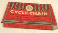 Vintage Shamrock bicycle/cycle chain empty box/package
