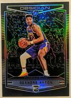 Deandre Ayton 2018-19 Panini Chronicles Obsidian Preview Rookie RC Suns Hot 🔥