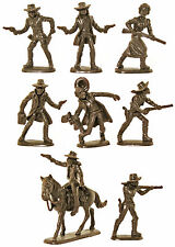 Atlantic Outlaws and Sheriffs - incomplete # 1214 mint 60mm scale figures no box