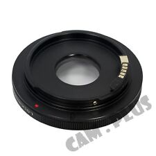 AF Confirm Infinity Focus Canon FD Lens To EOS EF Body Mount Adapter For T2i XS
