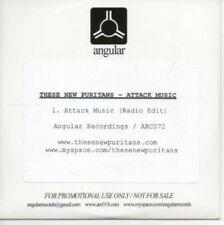 (AE62) These New Puritans, Attack Music - DJ CD