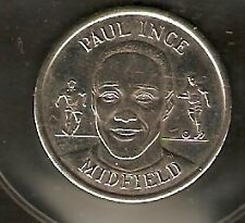 PAUL INCE     MEDAL 1998 ENGLAND WORLD CUP  SQUAD